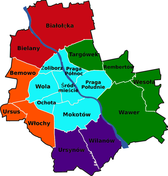 Kontener na śmieci Praga-Północ